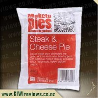 Maketu Steak & Cheese pie