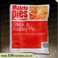 Maketu Steak & Kidney Pie