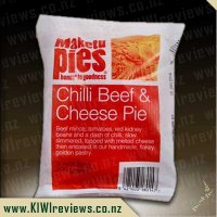 Maketu Chilli Beef and Cheese pie