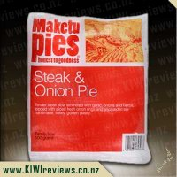 Maketu Steak & Onion pie