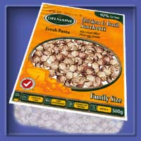 Product image for Delmaine Chicken & Basil Sacchetti