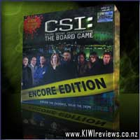 Product image for CSI: The Board Game - Encore Edition