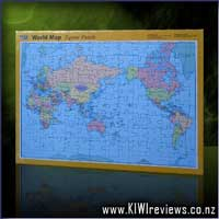 World Map 96-piece Jigsaw Puzzle