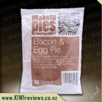 Product image for Maketu Bacon & Egg - Single Serve