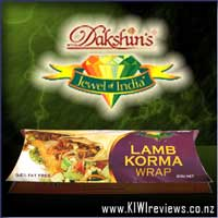 Jewel of India : Lamb Korma Wrap