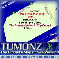 TUMONZ Module : Property Boundaries