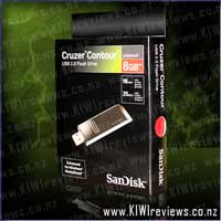 Cruzer Contour 8gb USB Flash Drive
