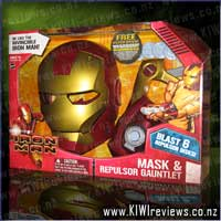 Iron Man Mask & Repulsor Gauntlet