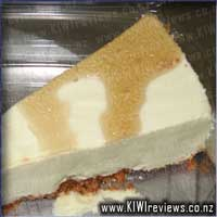 Kahlua and White Chocolate Cheesecake