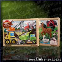 12  Piece Wooden Jigsaw Puzzle