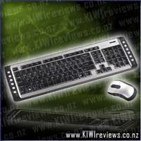 2.4 GHz Wireless Keyboard and Optical Mouse Set - AKM11AU