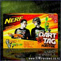 Product image for Nerf Dart Tag - Furyfire