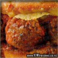 Oven Baked Sandwich: Meatball