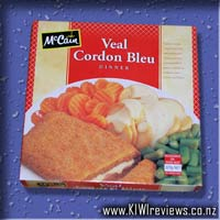 Veal Cordon Bleu dinner