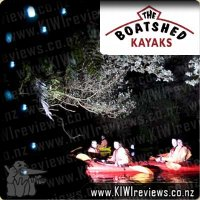 Glow Worm Kayak Tour