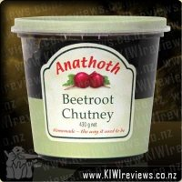 Anathoth Beetroot Chutney