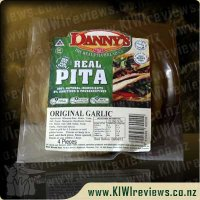 Product image for Dannys Pita Bread - Long-Life Garlic