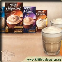 Nescafe Cafe Menu Range