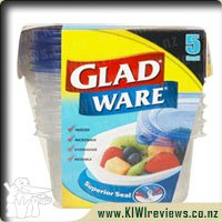 Gladware Food Storer 280gram 5 pack