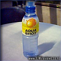 Aqua Shot active water : Mandarin