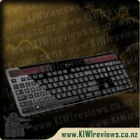 Product image for Logitech Wireless Solar Keyboard - k750r