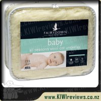 All Seasons Wool Cot Underlay
