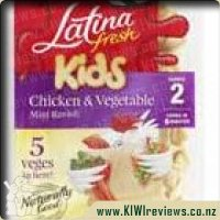 Product image for Kids Chicken & Vegetable Mini Ravioli 225gm