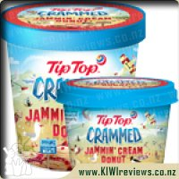 Product image for Tip Top Crammed Jammin Donut