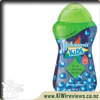 Product image for Johnsons Kids Shampoo and Conditioner Blueberry