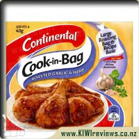 Continental Cook in Bag Garlic and Herb