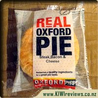 Oxford Steak, Bacon & Cheese pie