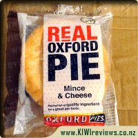 Product image for Oxford Mince & Cheese pie