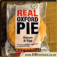 Oxford Bacon & Egg pie