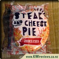 John's Steak & Cheese pie