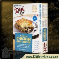 GEM Country Chicken and Leek Pie