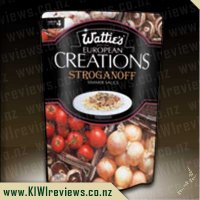 European Creations - Watties Beef Stroganoff
