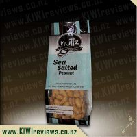 Nuttz Sea-Salted Peanuts