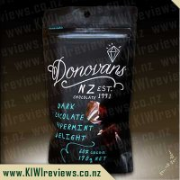 Donovans Dark Chocolate Peppermint Delight