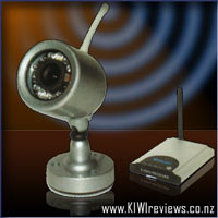 Night Hawk - wireless outdoor camera with night vision