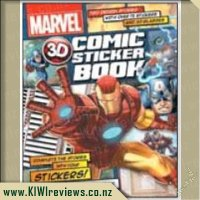 3D Comic Sticker Book