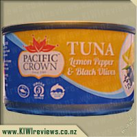 Product image for Pacific Crown Tuna - Lemon Pepper & Black Olives