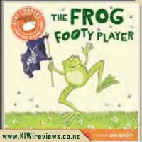 Kiwi Corkers: the Frog Footy Player