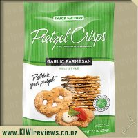 Product image for Pretzel Crisps - Garlic Parmesan