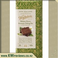 Whittakers Waikato Oolong Tea Dark Chocolate