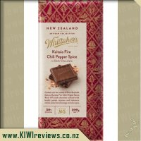 Whittakers Kaitaia Fire Chili Dark Chocolate