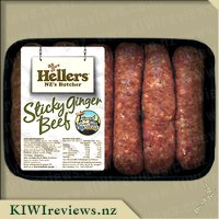 Hellers Sticky Ginger Beef Sausages
