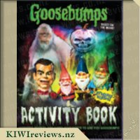 Goosebumps Activity Book