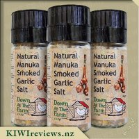 Manuka Smoked Garlic Salt