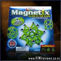Product image for Magnetix - 70pc Glow-in-the-Dark set