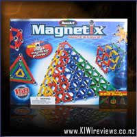 Magnetix - 150pc Primary Colours Rods set